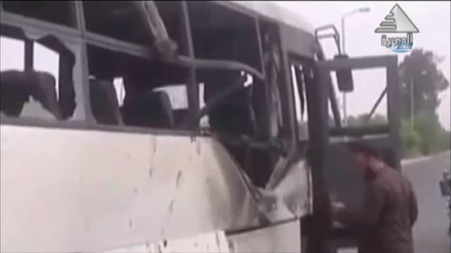 Mısır'da Kıptileri taşıyan otobüse saldırı: 26 kişi hayatını kaybetti