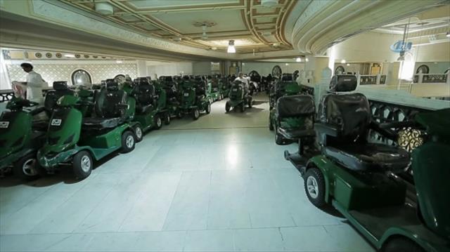 Mekke'de hacıların kullanımı için 18 bin araç tahsis edildi