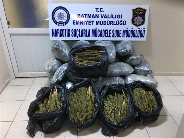 111 kilogram uyuşturucu ele geçirildi