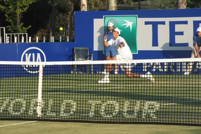 Antalya'da tenis fırtınası devam ediyor