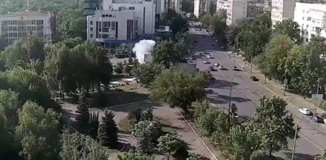Kiev'deki patlamada 1 kişi öldü