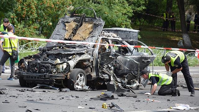 Ukrayna'da terör saldırısı: 1 ölü