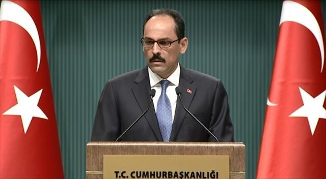"""İbrahim Kalın'dan """"Katar"""" açıklaması"""