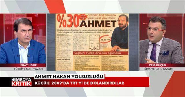 """""""İGDAŞ'tan çaldığın paraların hesabını ver Ahmet Hakan"""""""