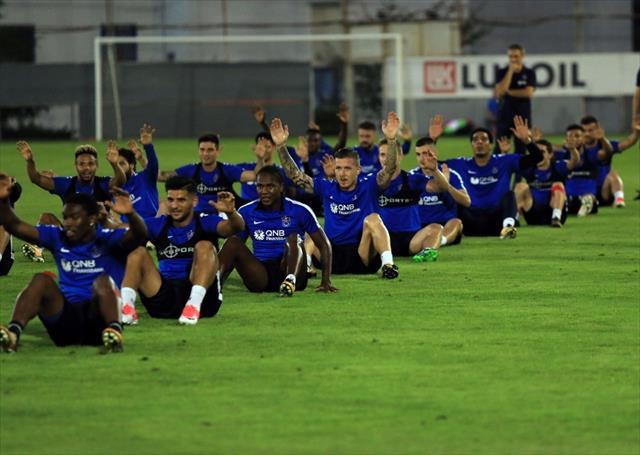 Trabzonspor'un yeni transferleri idmana çıktı