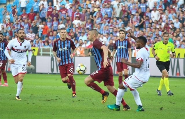Trabzonspor'dan nefes kesen geri dönüş