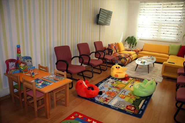 '5 yıldızlı' adli görüşme odası