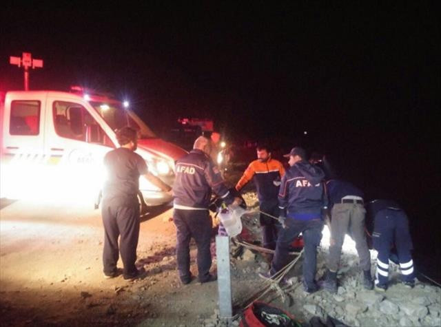 Trabzon'da feci kaza: 3 ölü, 1 yaralı