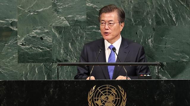 Güney Kore Devlet Başkanı Moon: Biz Kuzey Kore'nin yıkılmasını arzu etmeyiz