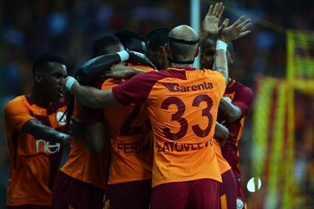 Galatasaray istatistiklerde de zirvede
