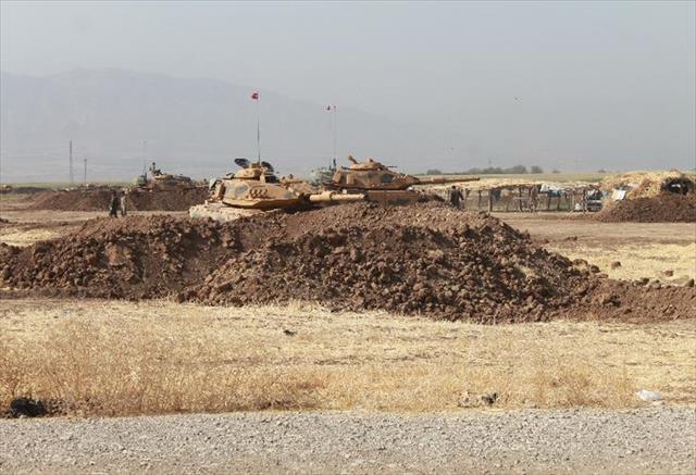 Irak sınırında tatbikat 5'inci gününde
