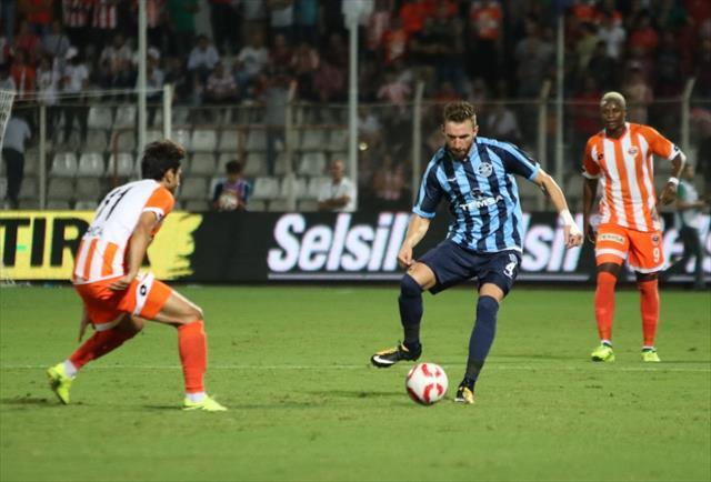Adana derbisinde kazanan Demirspor