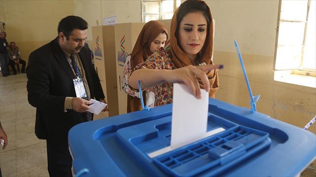 IKBY'deki tartışmalı referandumda sandıklar kapandı