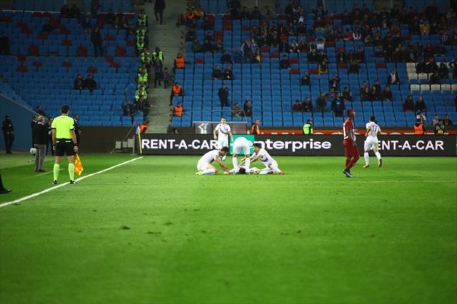 Trabzon'da ilk yarıda gol düellosu