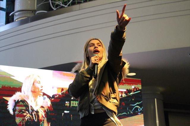 Aleyna Tilki Eskişehir'de buluştu