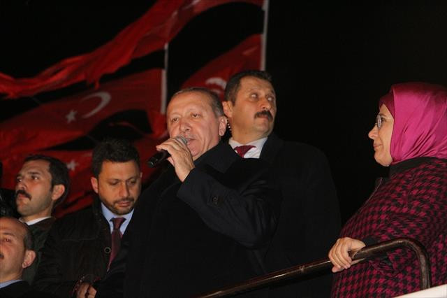 Erdoğan, şehit Eren Bülbül'ün ailesini ziyaret etti