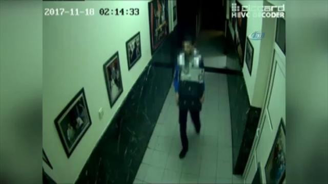 Diyarbakır'da kamu kurumundan hırsızlık