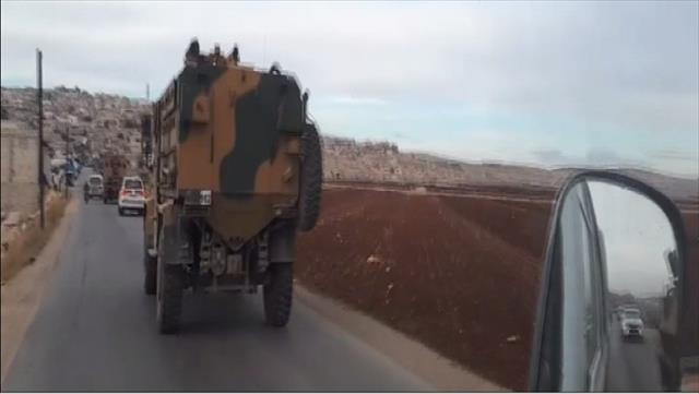 TSK, Kafr Bassin bölgesinde gözlem noktası kurdu