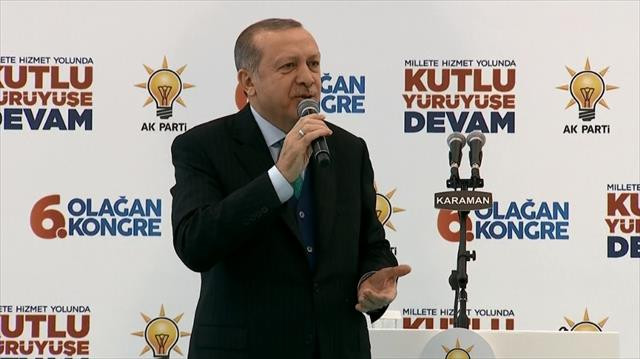 Erdoğan'dan tefrika uyarısı