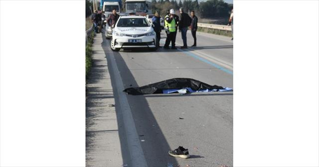 Adana'da ilginç kaza: 1 ölü