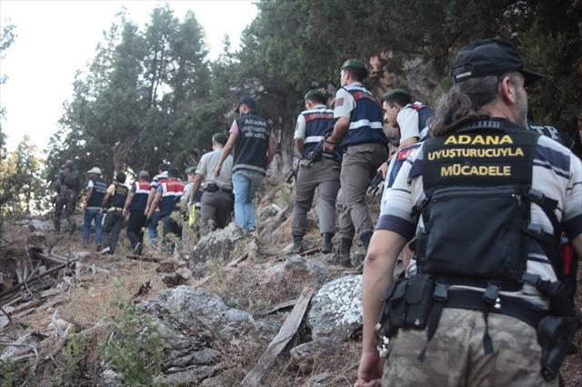 Adana'da 1 yılda 48, 6 milyonluk uyuşturucu ele geçirildi
