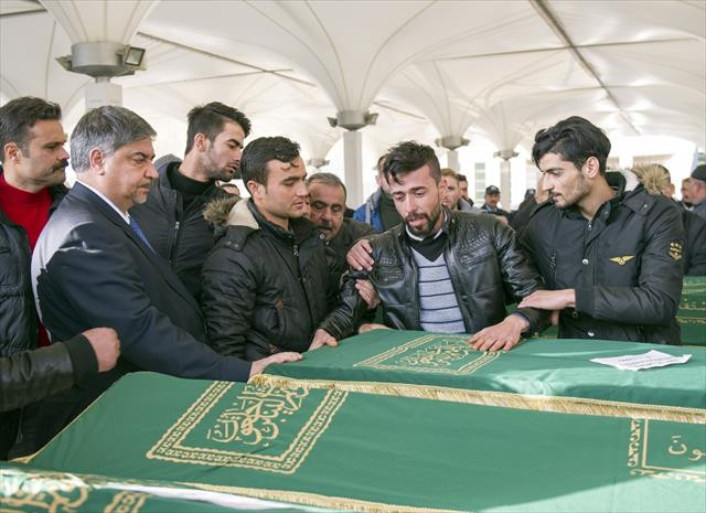 Kaza ölen Türkmenler Ankara'da son yolculuğuna uğurlandı