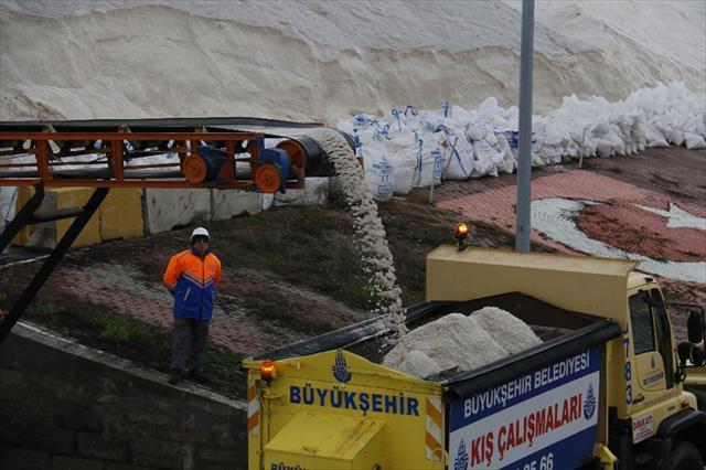 İstanbul'da kar hazırlığı tamam
