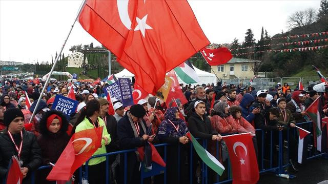 İstanbullular Kudüs için koştu