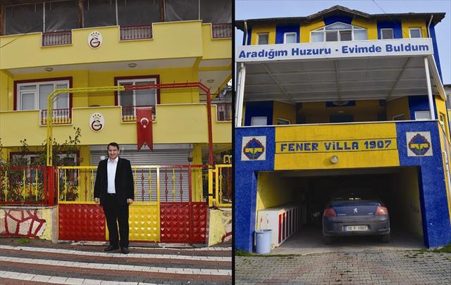 Biri Galatasaraylı,biri Fenerbahçeli: Fanatikliği bu kadarı