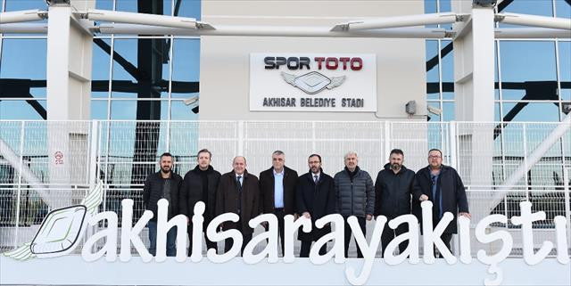 Spor Toto Akhisar Stadı açılıyor