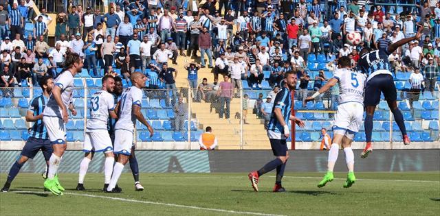 BB Erzurumspor Adana'da kazandı