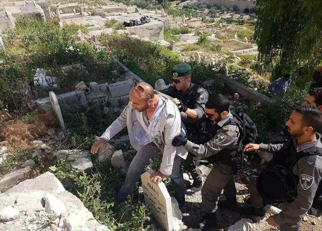 İsrail polisinin zulmü sürüyor…