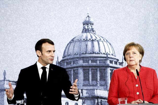 Merkel ve Macron'dan İsrail ve İran'a çağrı…