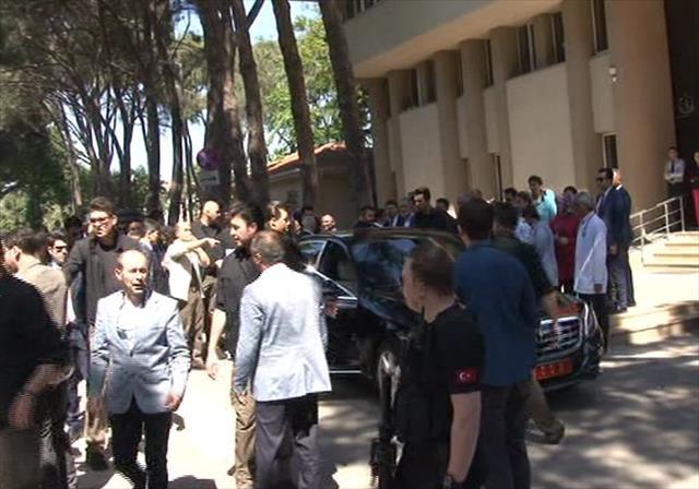 Başbakan Yıldırım'dan hasta ziyareti…