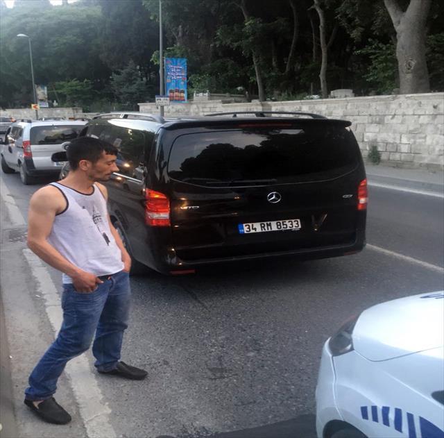 Alkollü Uber sürücüsü kazaya karıştı…