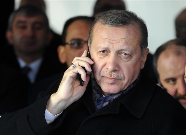 Erdoğan, Suudi Kral Selman ile Filistin'i konuştu…