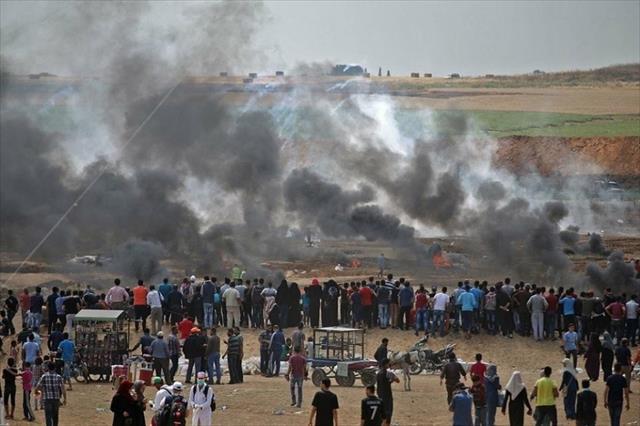 Gazze'de 56 kişi yaralandı…