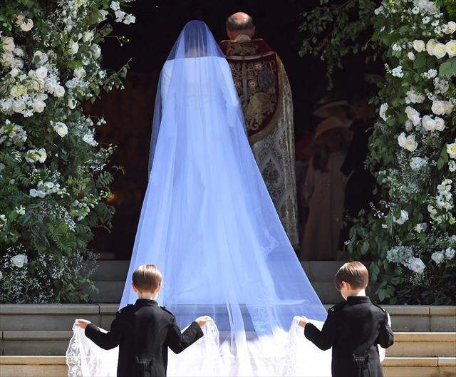 İngiltere'de yılın düğünü gerçekleştirildi…