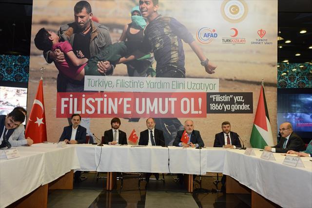 Akdağ'dan Filistin'e yardım kampanyası açıklaması…