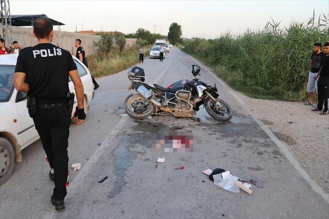 Adana'da kaza: 2 polis yaralı