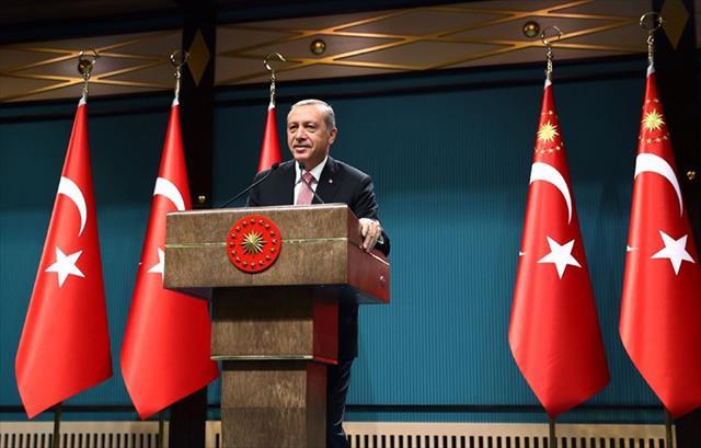 Erdoğan seçim beyannamesine son şeklini veriyor…