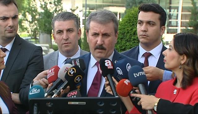 Destici'den Cumhurbaşkanı Erdoğan'a teşekkür ziyareti…