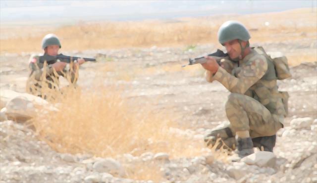Lice'de çatışma: 1 asker yaralandı