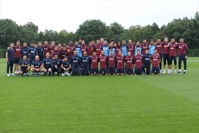Trabzonspor Slovenya'da ilk antrenmanına çıktı