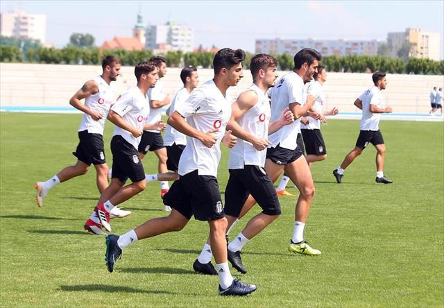 Beşiktaş Slovakya Kampında YO-YO testinden geçti