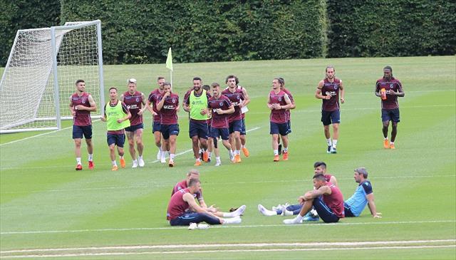 Trabzonspor Slovenya'da hazırlıklarını sürdürüyor