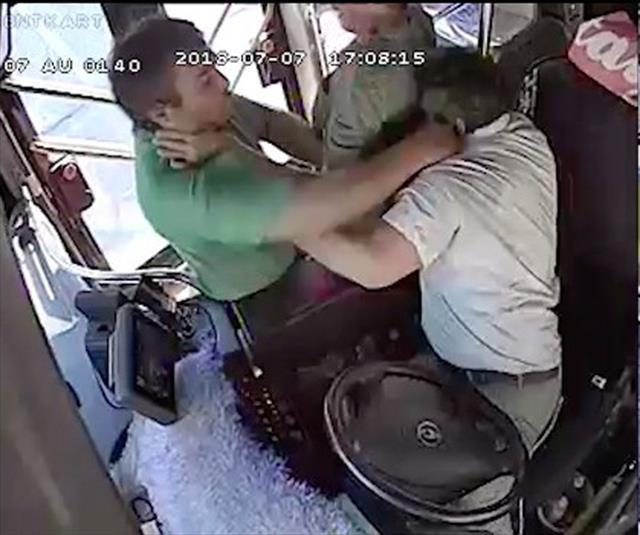 Otobüs şoförünü darp eden yolcuya suç duyurusu