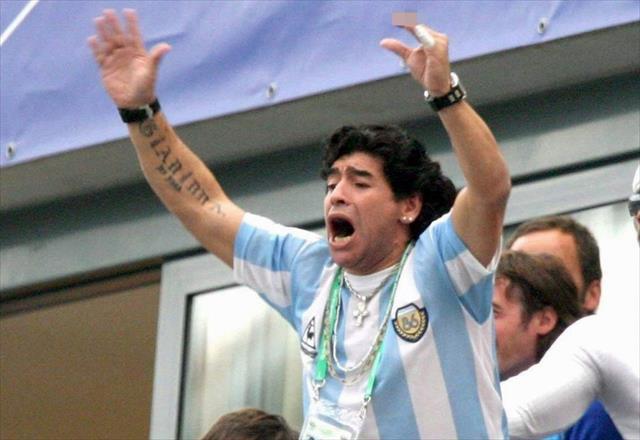 Maradona: Ben Filistinliyim…