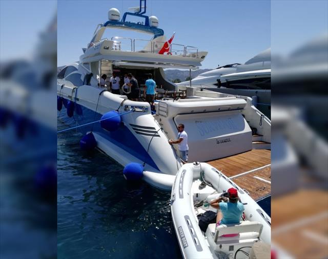 Acun Ilıcalı'nın teknesi Survivor batma tehlikesi geçirdi