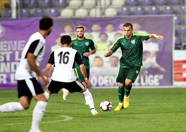 Bursaspor tek golle galip